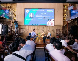 HAMEE cafe talk lần 2/2018