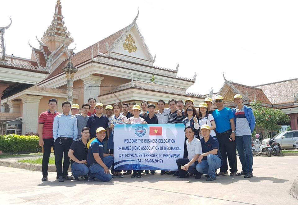 Công Ty Cơ Khí Duy Khanh tham gia Chương trình Xuất Tiến Thương Mại tại thị trường Campuchia